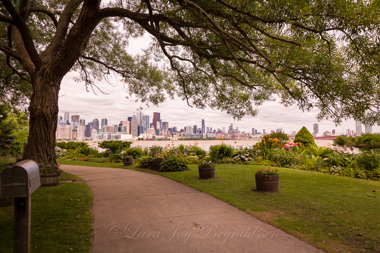 The Toronto skyline from Ward's Island.