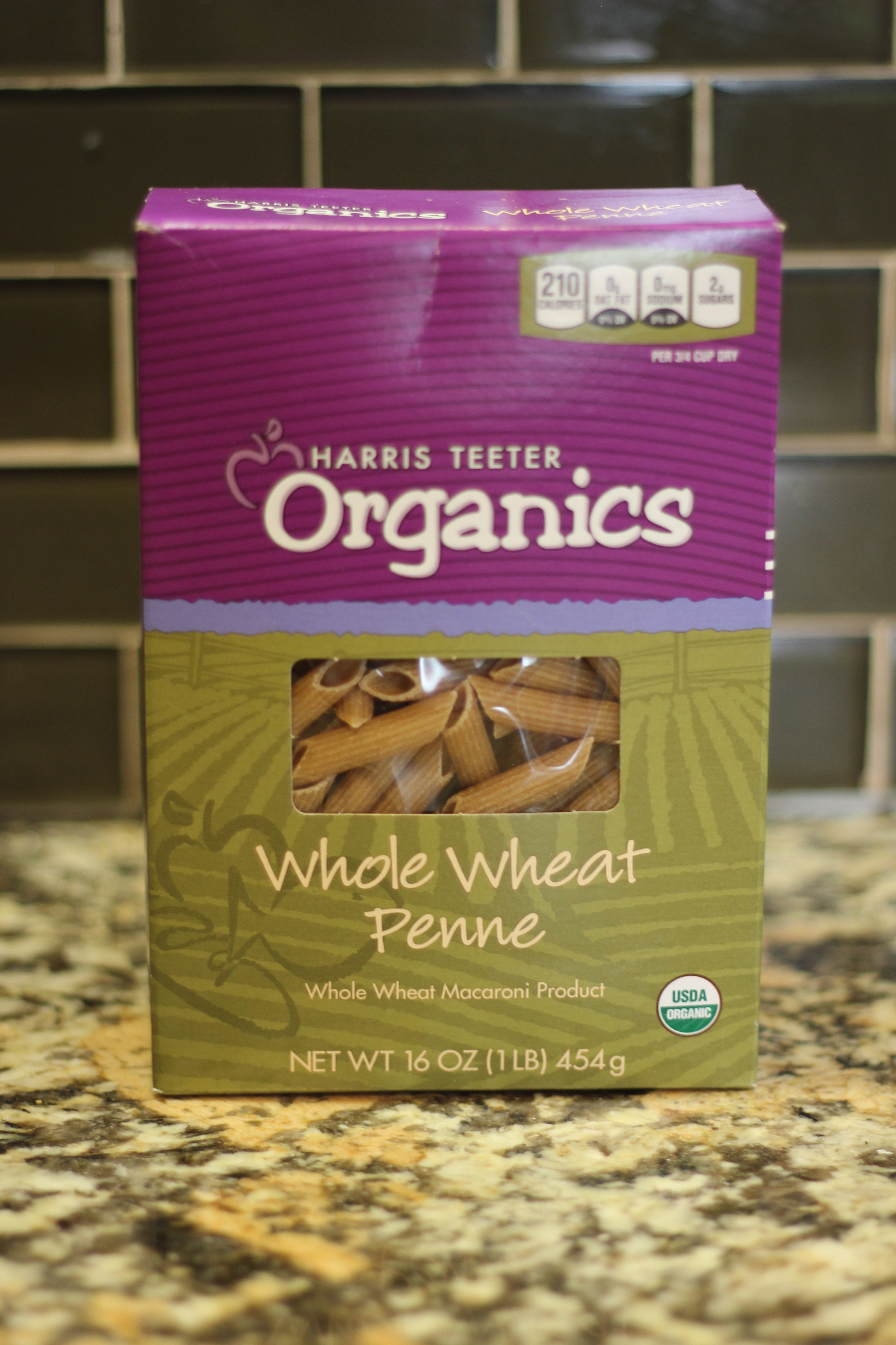 BTW, while this pasta is from my grocery store down the way, I have found incredibly good prices on whole wheat pasta from Whole Foods.