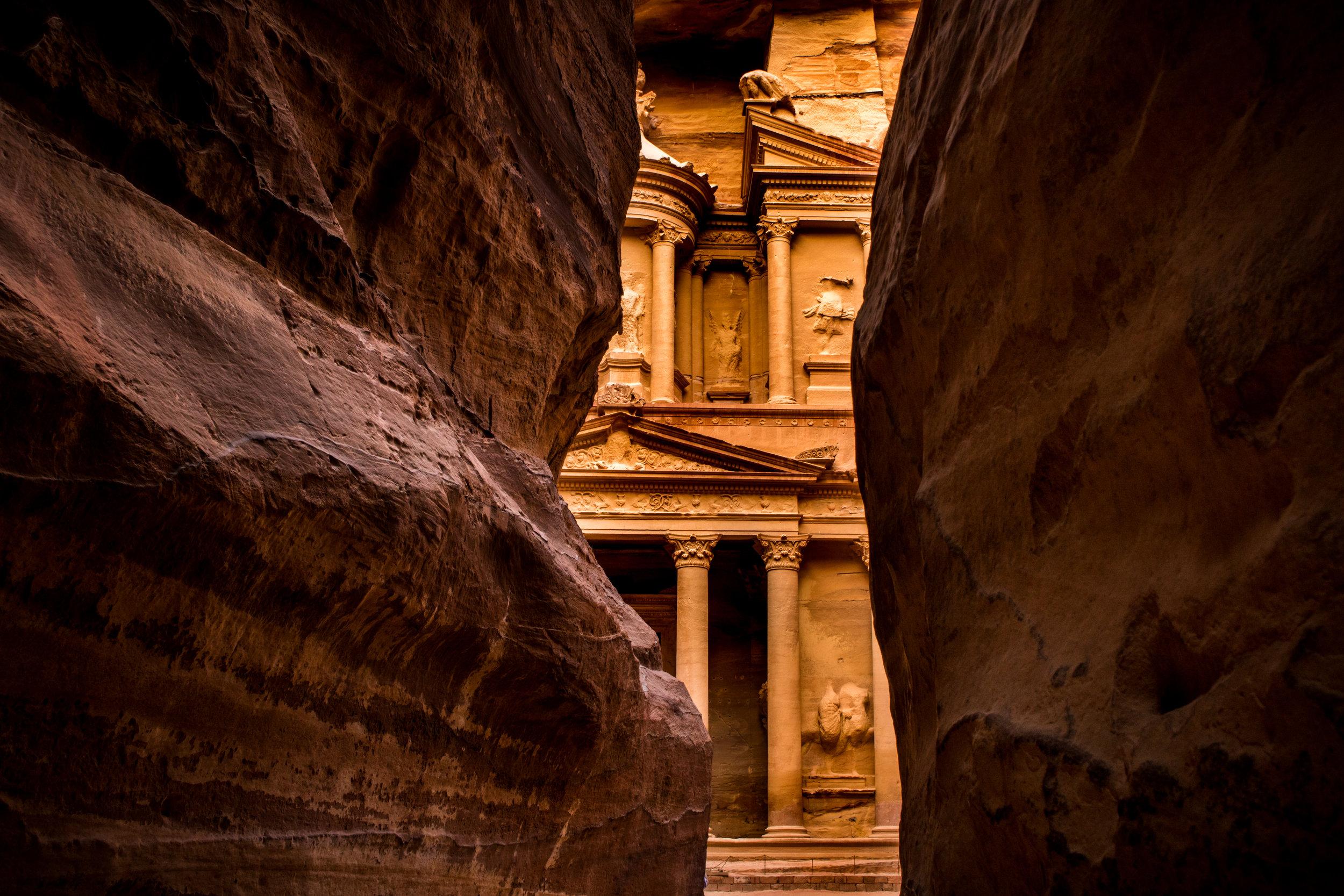 Early Light, Petra, Jordan (Aug. 2016)