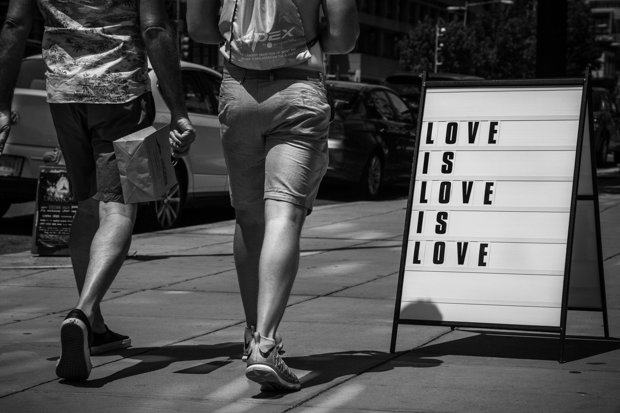 Love Is Love Is Love. Washington, D.C. (June 2017)
