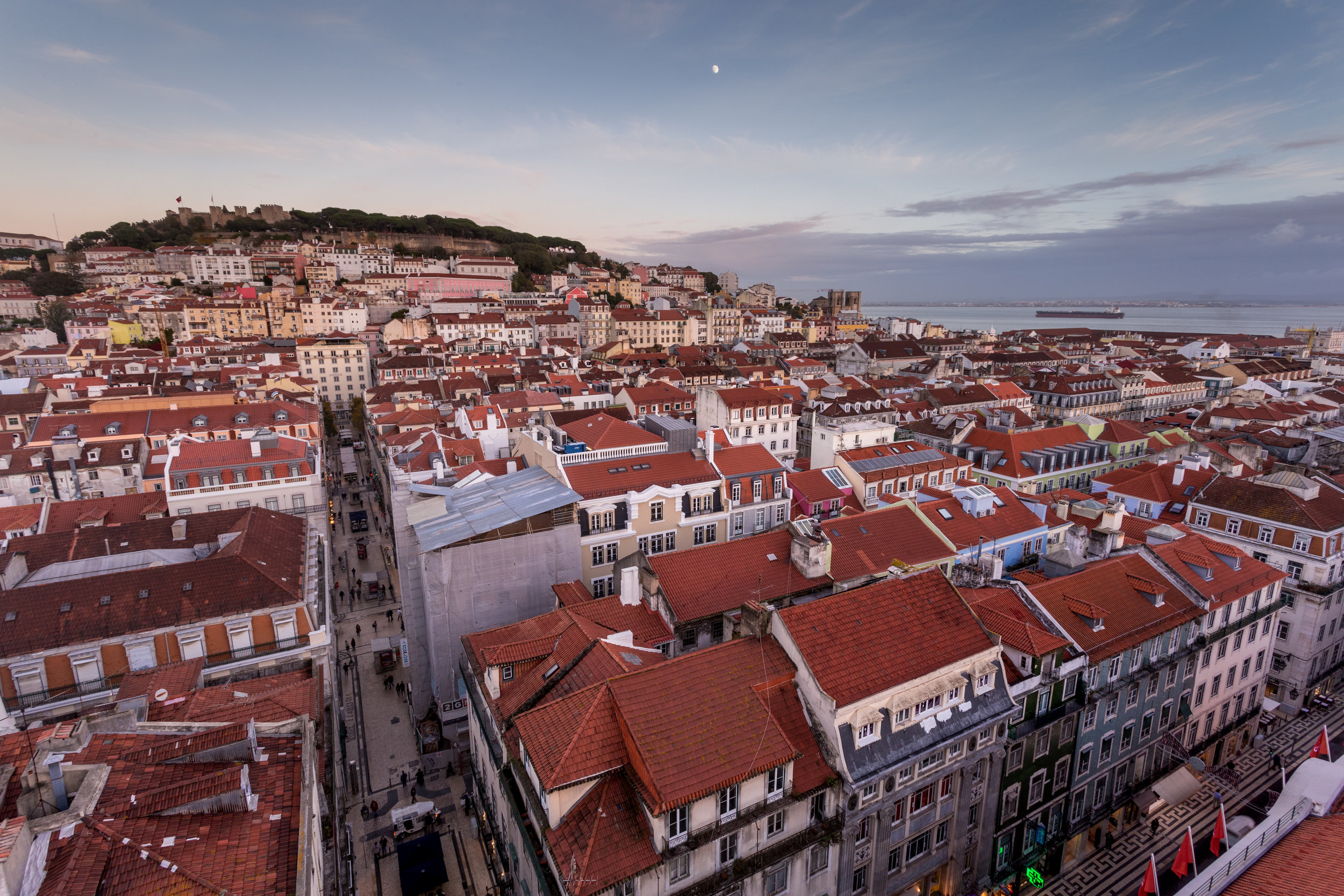 Sunset. Lisbon, Portugal (Nov. 2018)