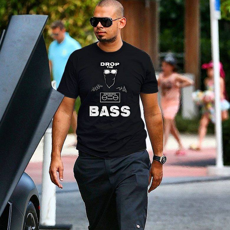 Afrojack in the Drop The Bass Tee