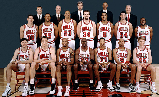 The Chicago Bulls won the championship 6 times in the 1990's.