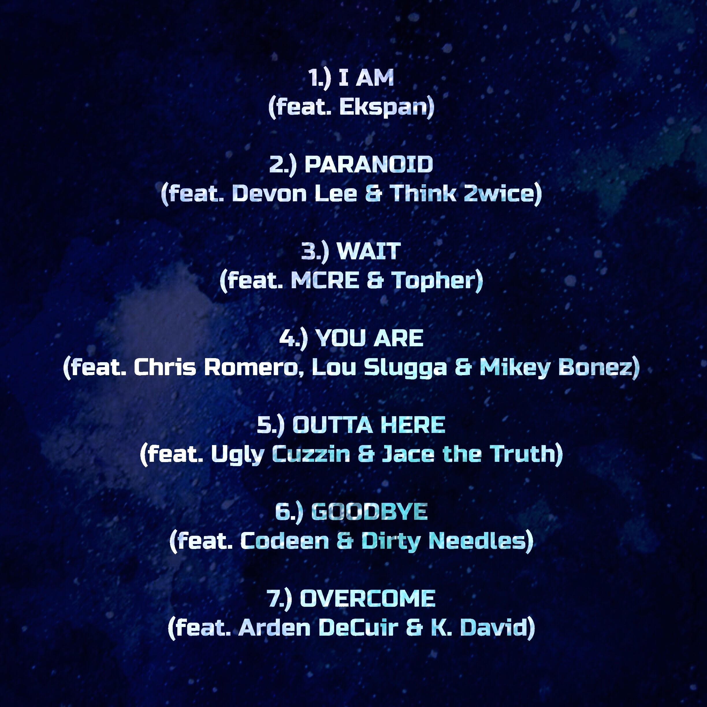 D.Cure 'Cuz It Bangz 3' Tracklisting