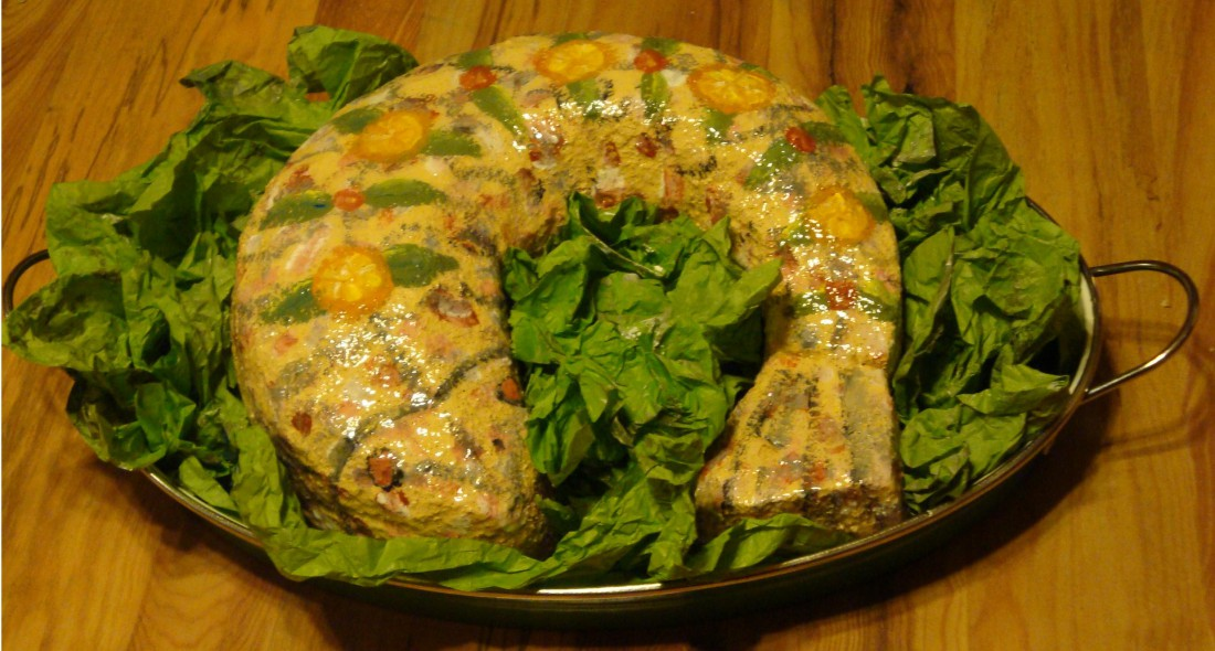 Fish Aspic by Terri Ristow for   Wonder of the World