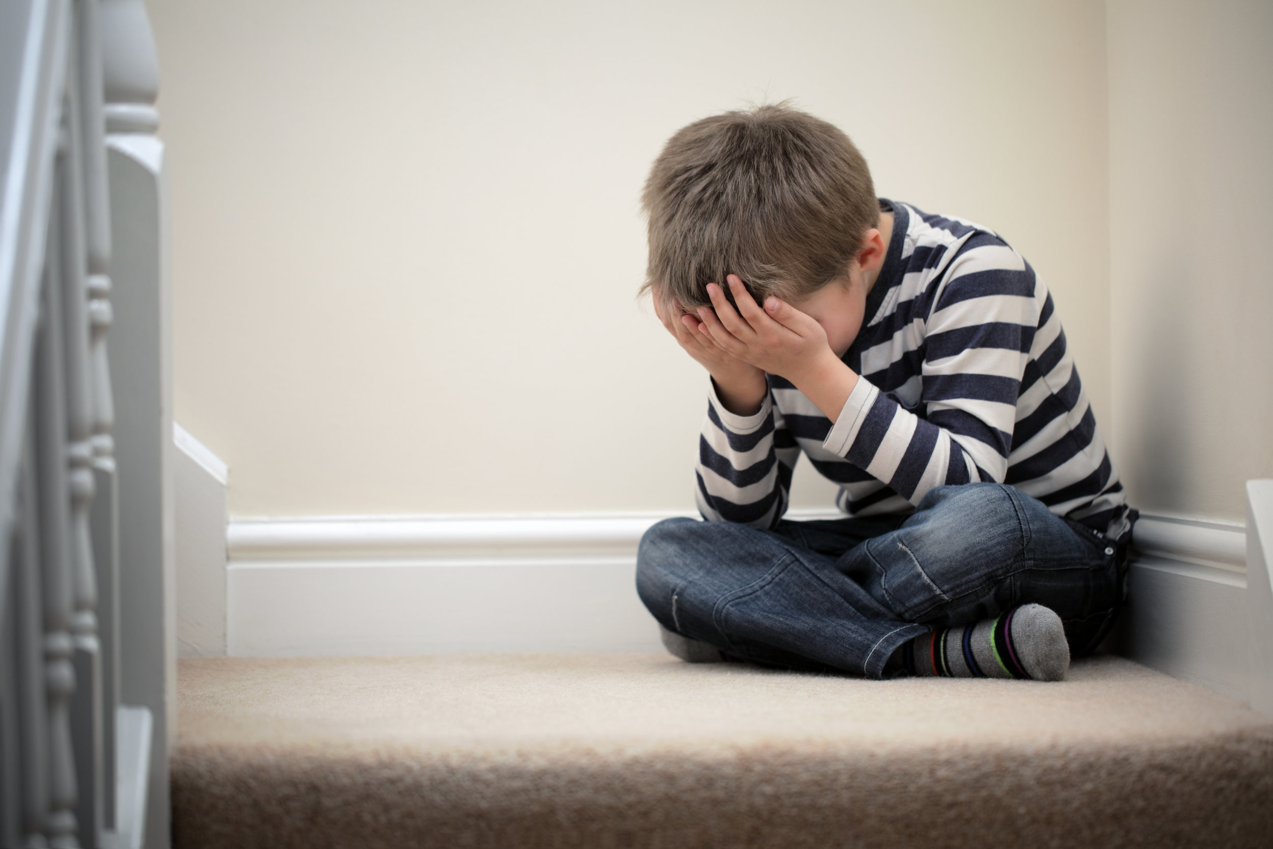 This isn't Tony. This is a stock photo of a child suffering from end-of-summer ennui.