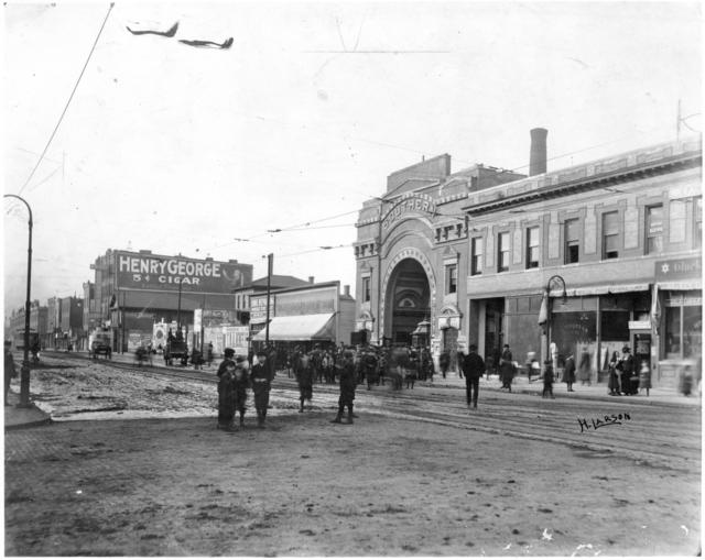 The Southern, 1910. Photo: H. Larson/Minnesota Historical Society.