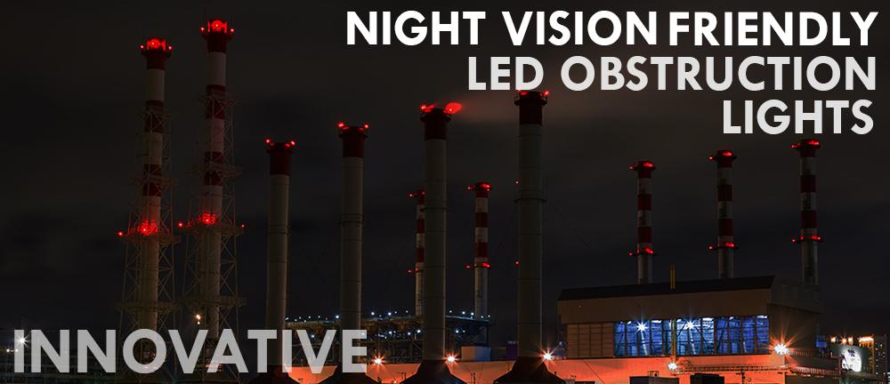 NVG Friendly Obstruction Lights