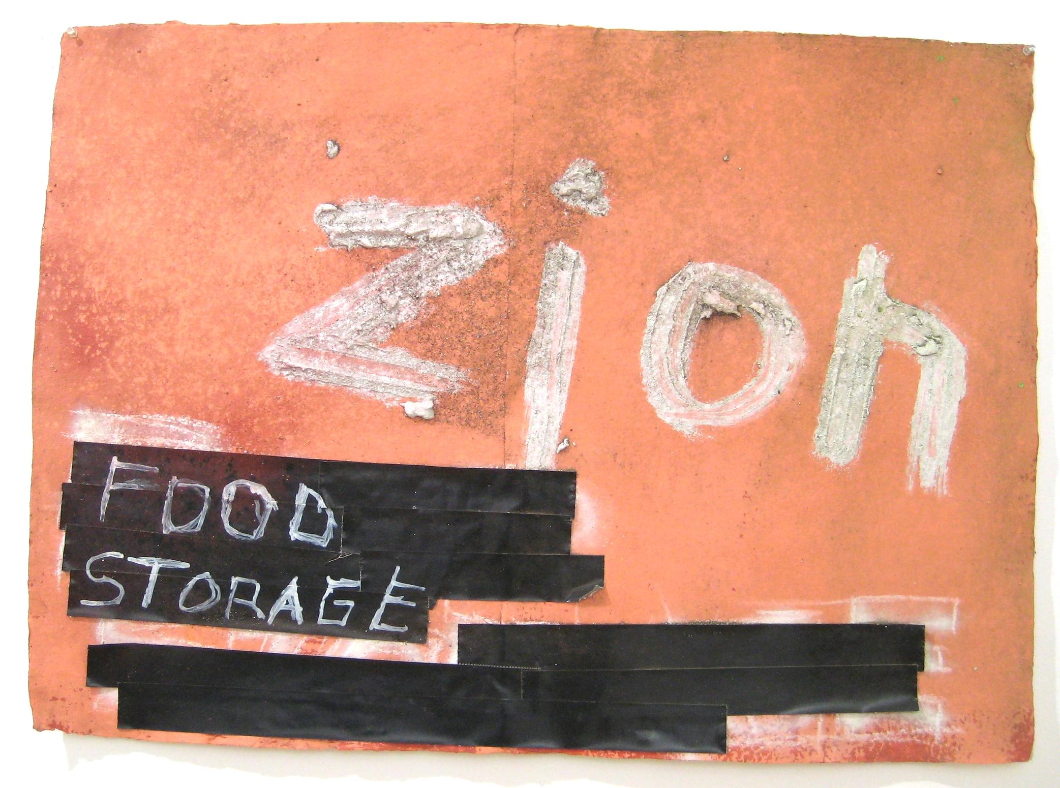 Zion / Food Storage