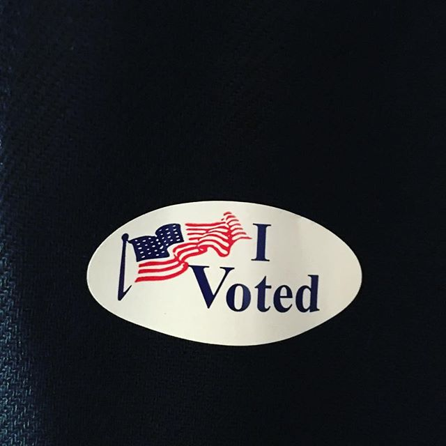 🇺🇸 #ivoted #election2016