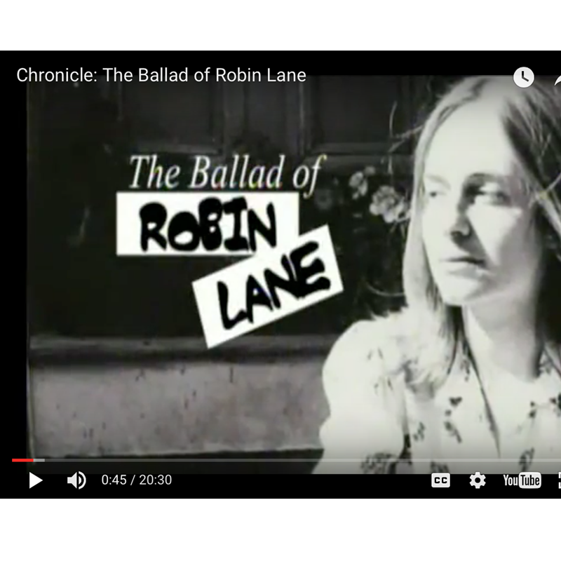 Chronicle: The Ballad of Robin Lane
