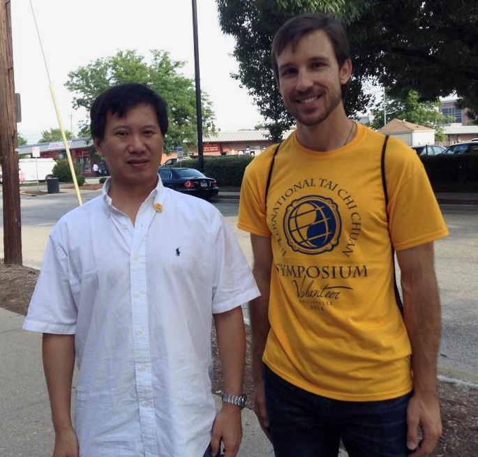 Picture with Grandmaster Yang Jun at the International Tai Chi Chuan Symposium in Louisville, KY