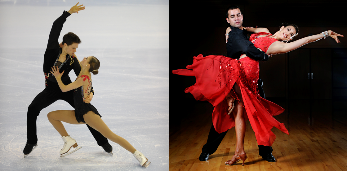 The  sport  ofOlympic Figure Skating versus the  art  ofCompetitive Dance; is there any difference?