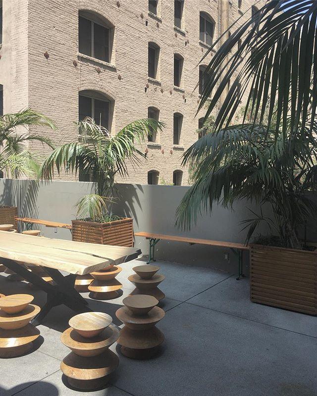 LA rooftop ✌🏼🌴