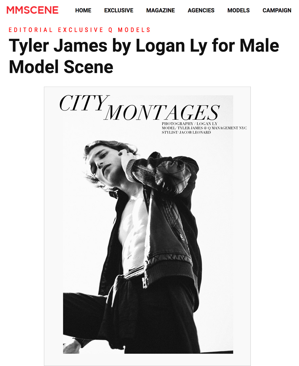 Male Model Scene  - Tyler James by Logan Ly
