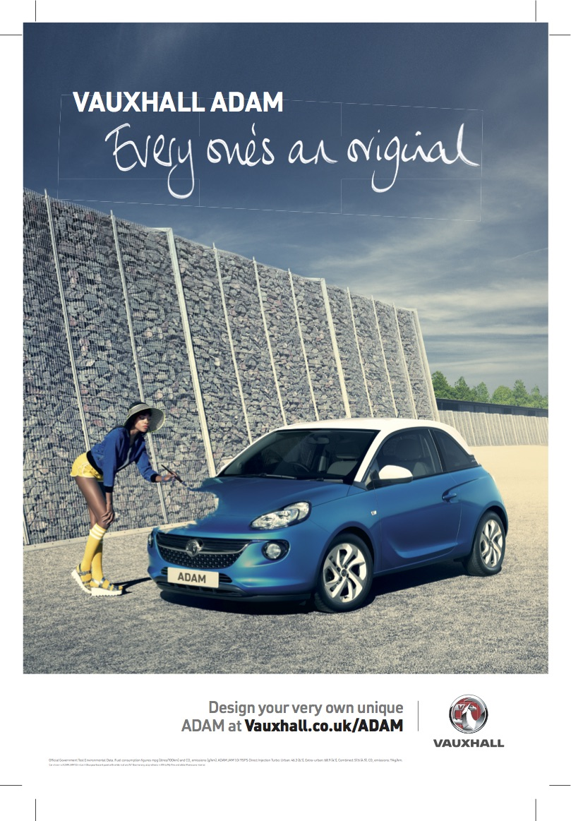 Photographer: Andy Glass |Project: Vauxhall Adam | Agency: McCann | Production: Locate Productions