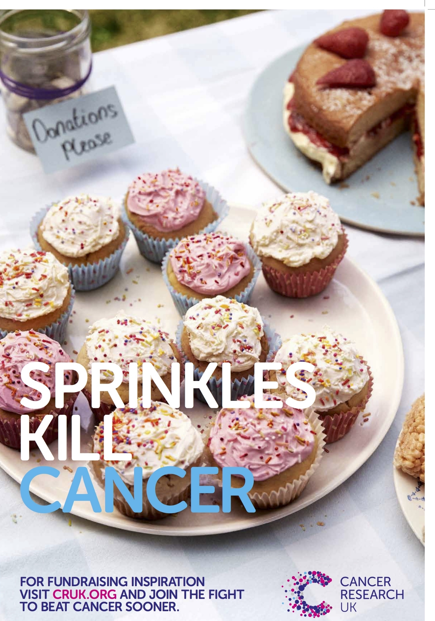 Cancer Research UK Sprinkles