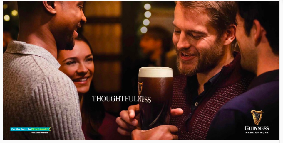 Guiness -Thoughfulness