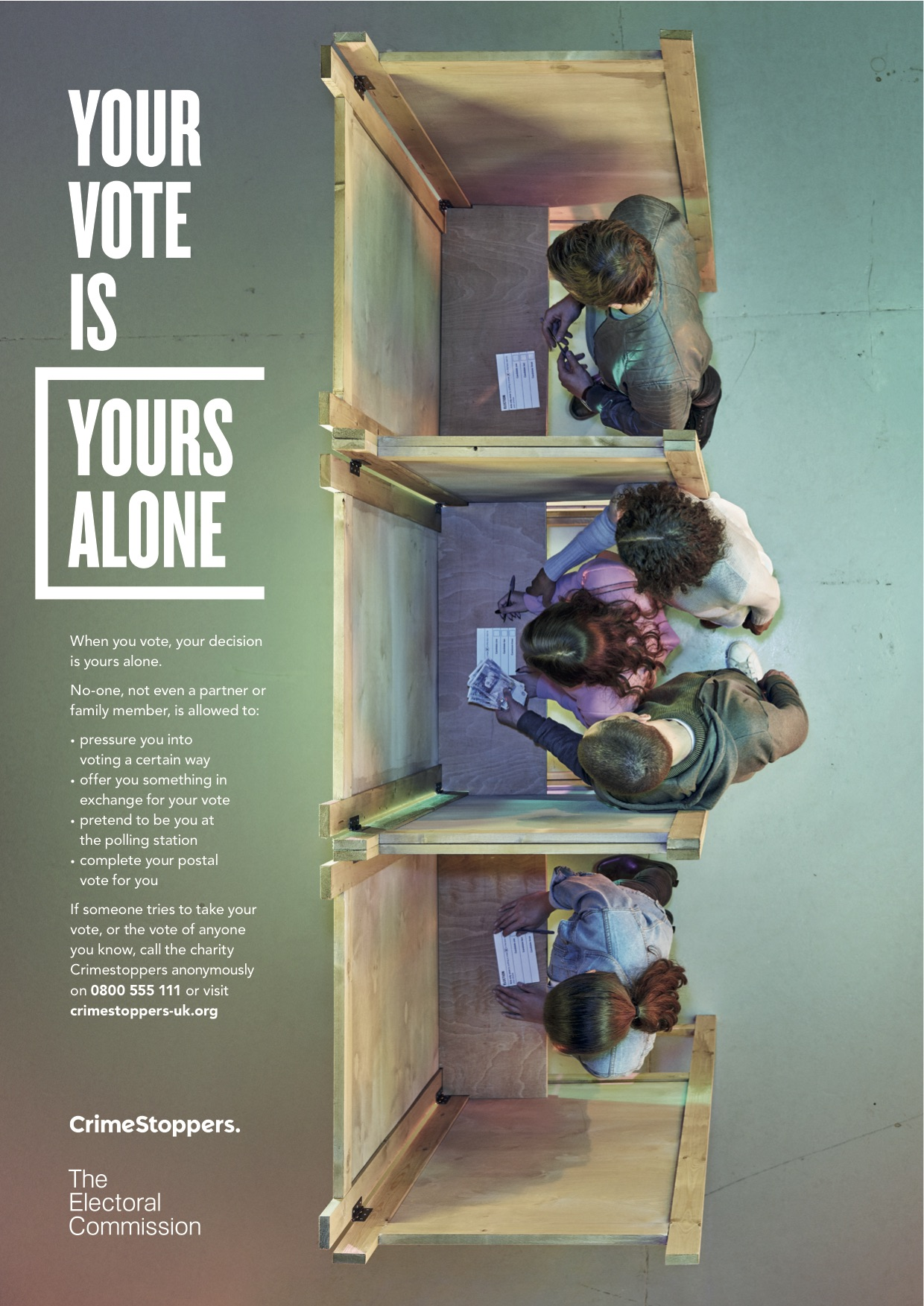 Electoral Commission  - Polling Station Vote