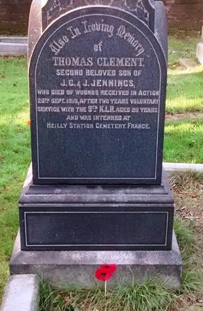 Grave - TC Jennings