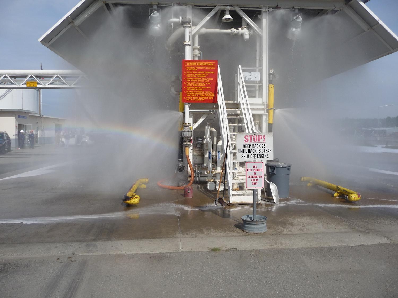 Truck Loading Rack Deluge System Test