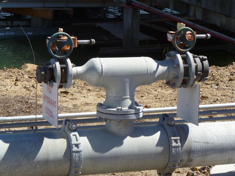 Custom Fabricated Hydrant