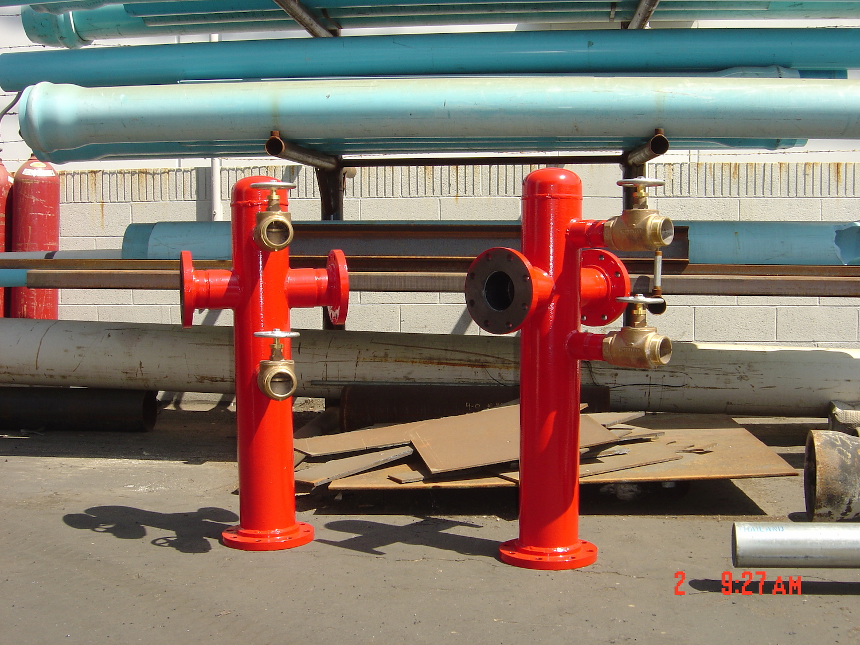 Custom Fabricated Mega-Hydrant
