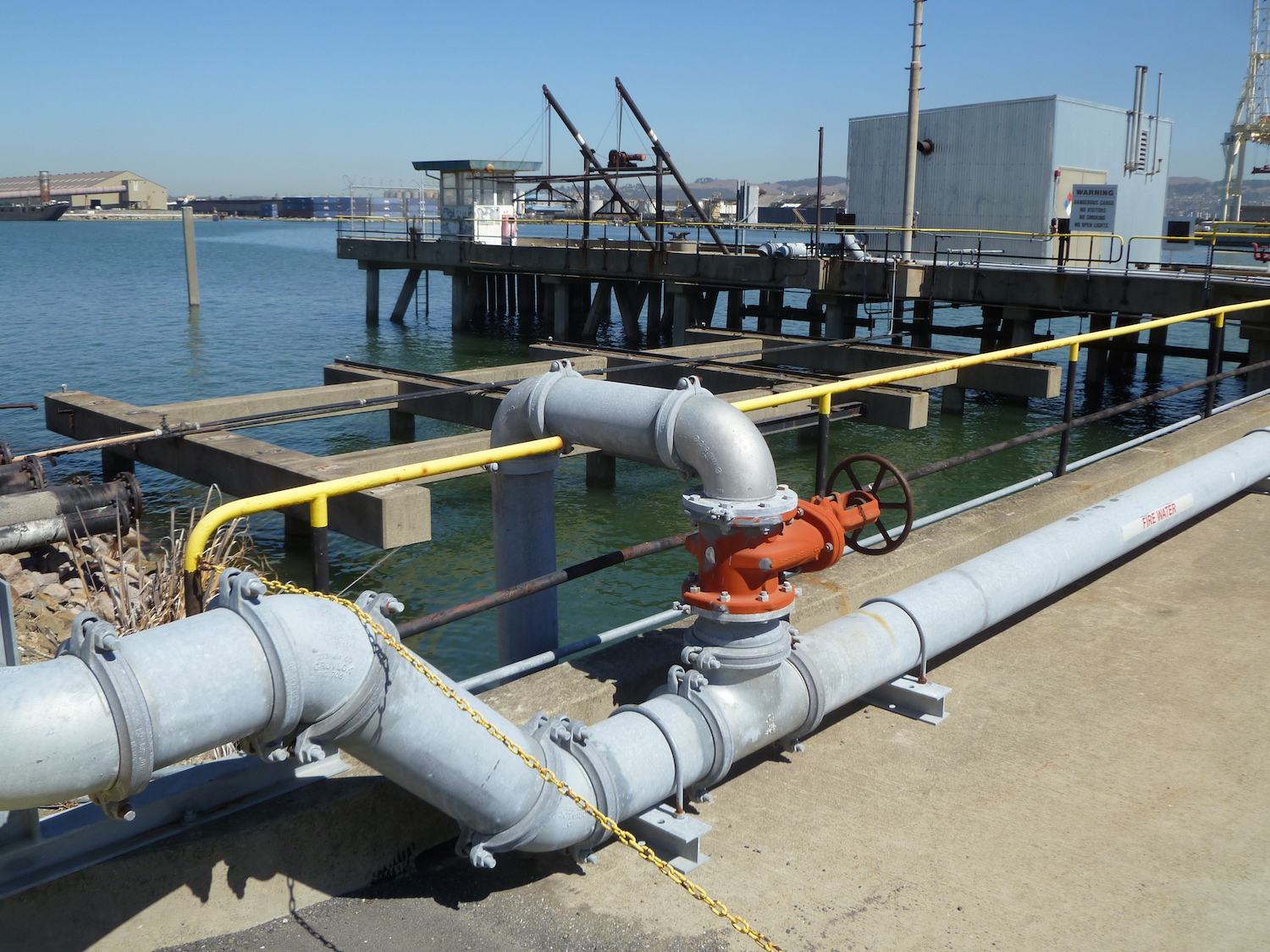 Fabricated Wharf System