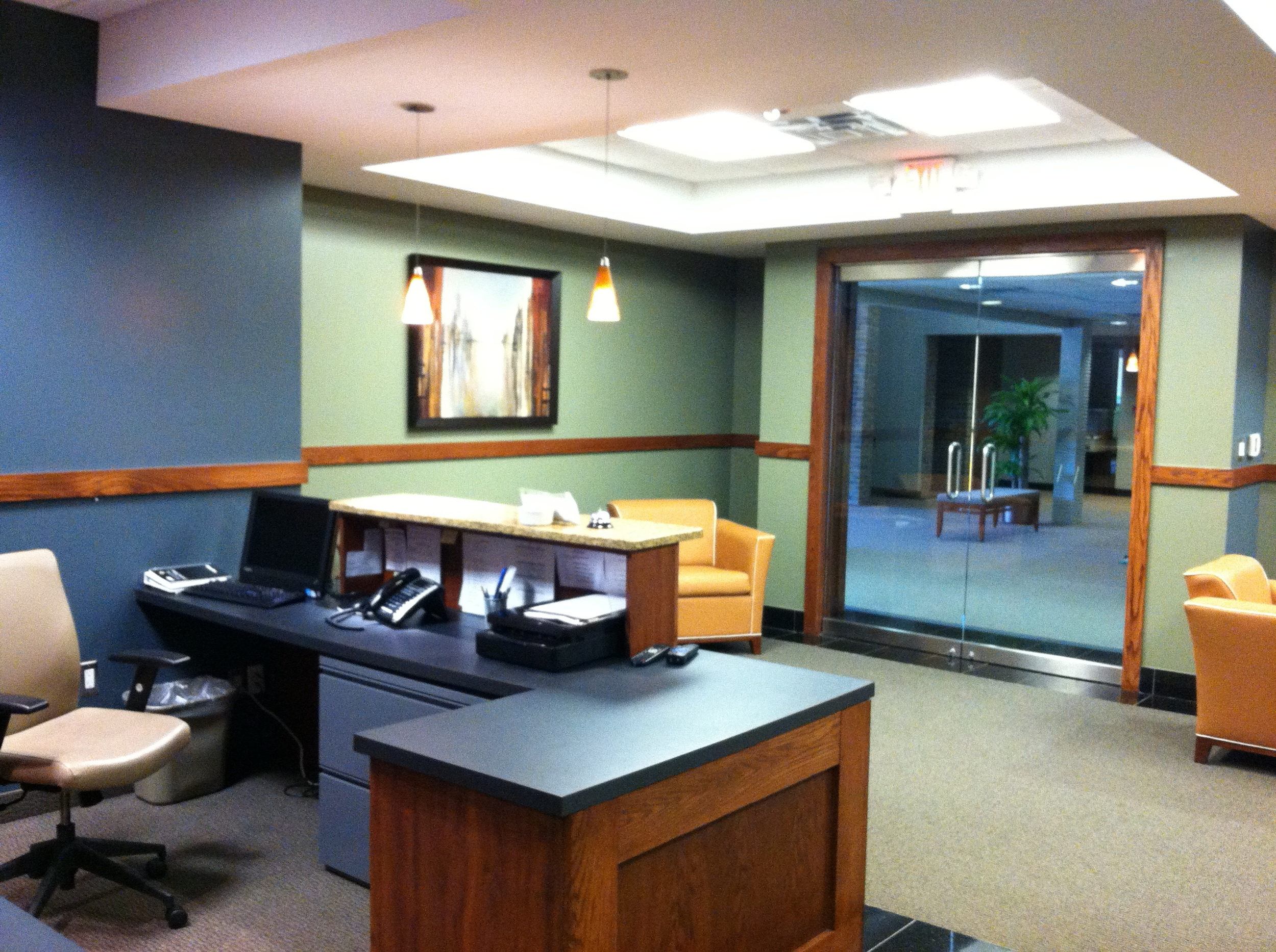 Rochester Executive Suites Lobby