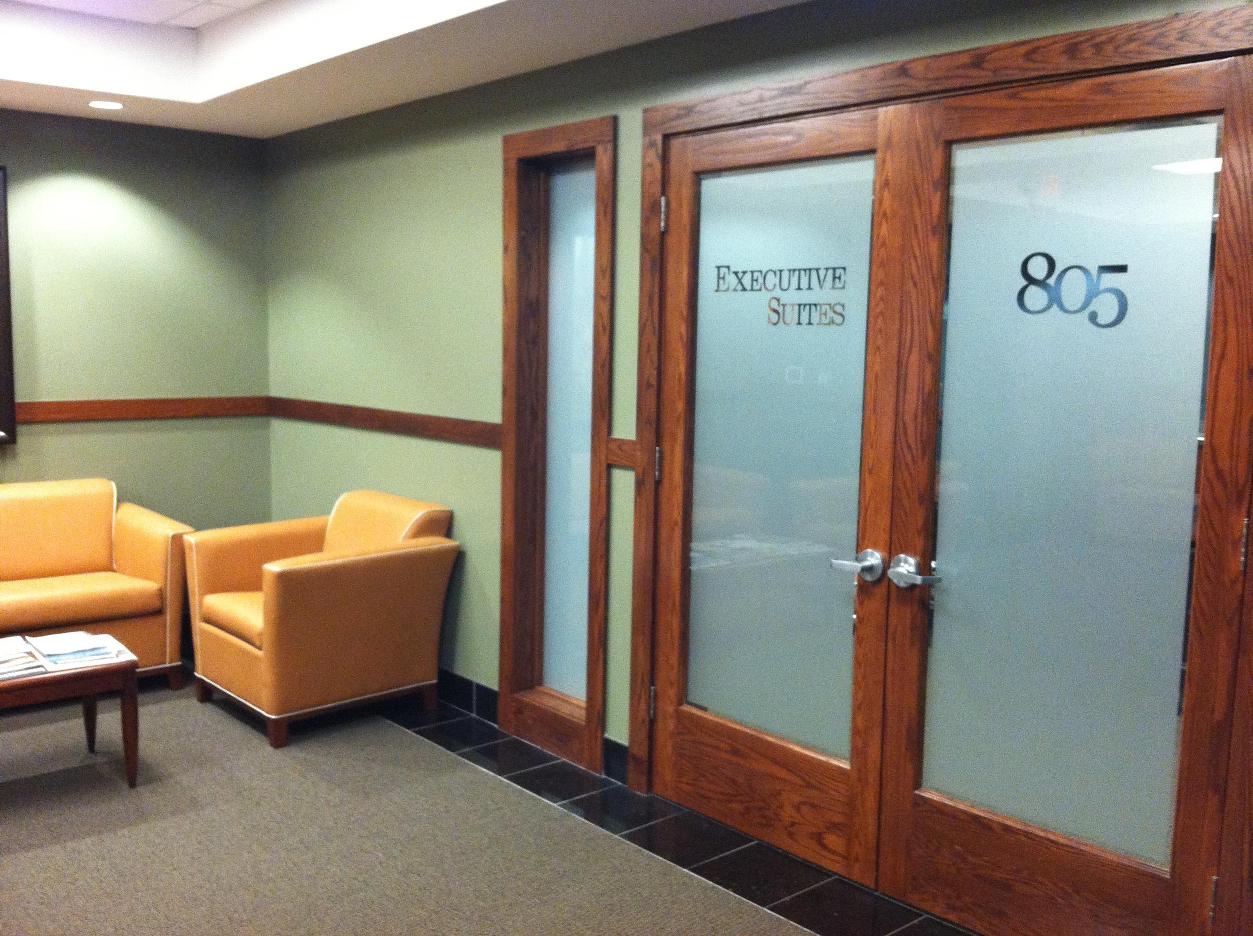 Rochester Executive Suites Entrance
