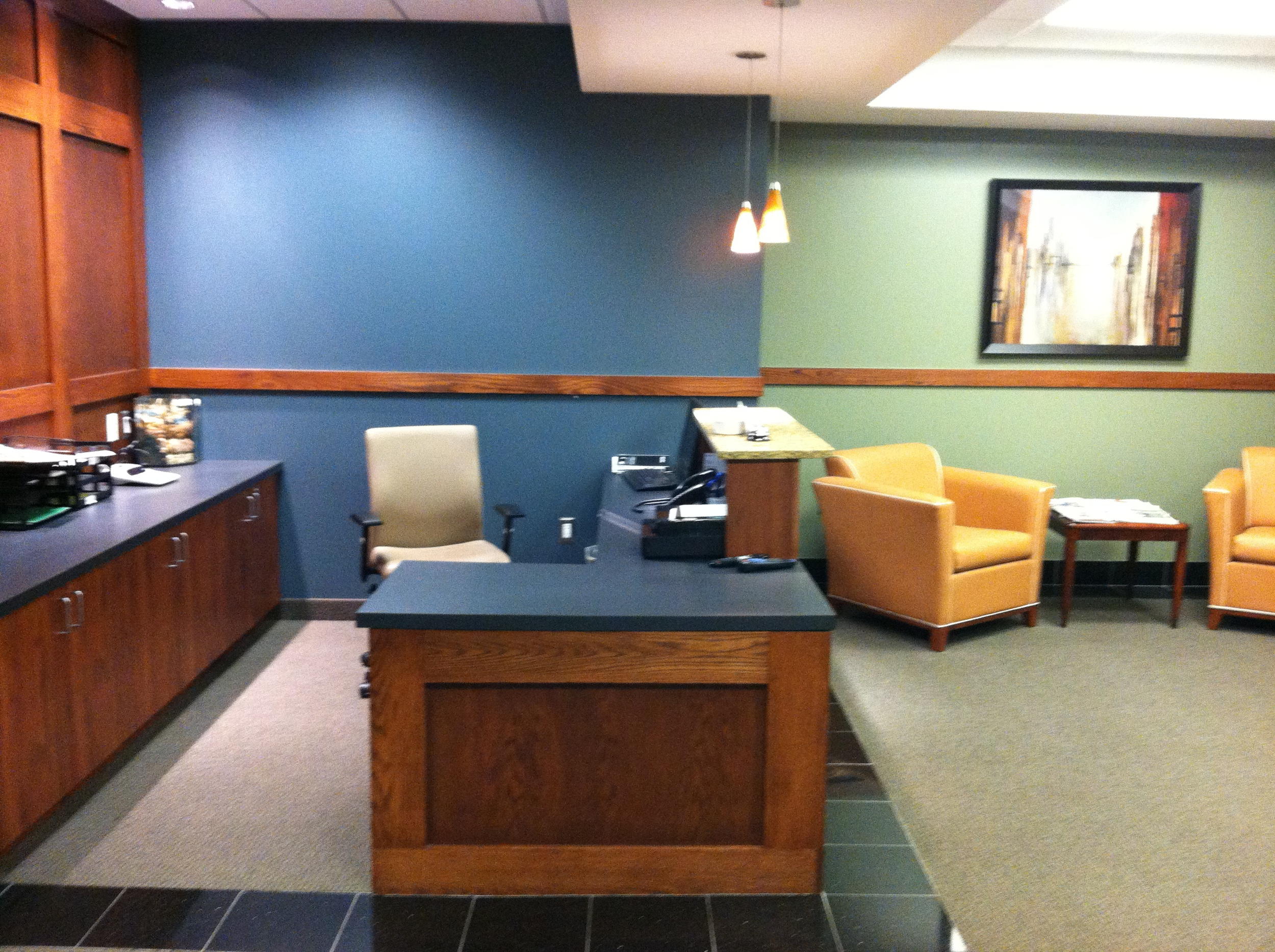 Rochester Executive Suites Lobby 2