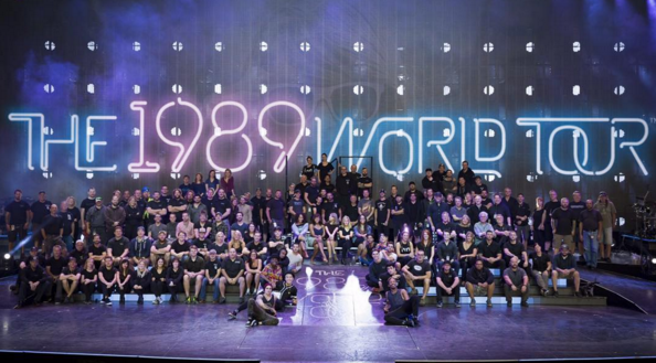 The 125 crew members on Taylor Swift's 1989 World Tour