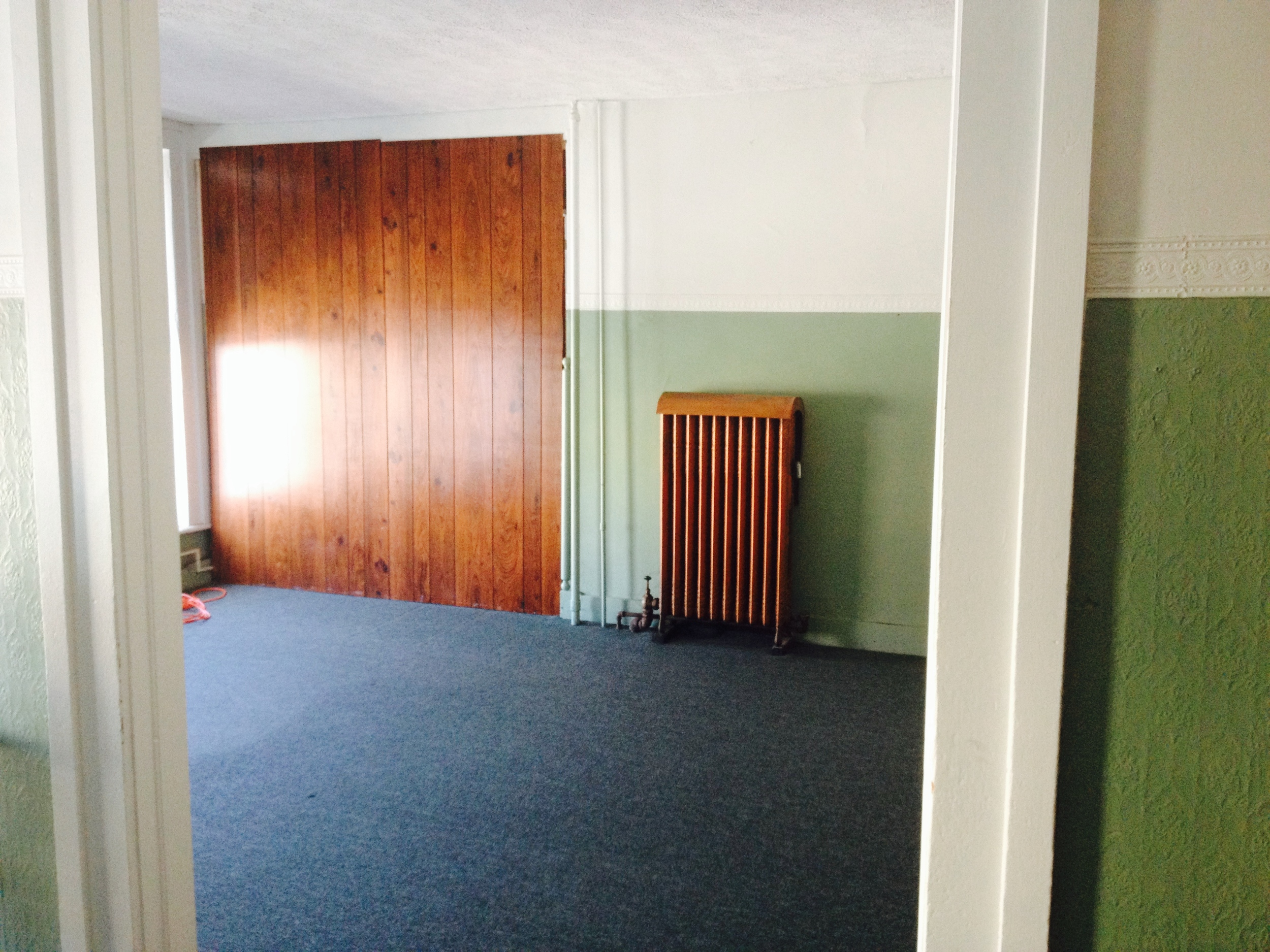 empty room for storing stuff/changing