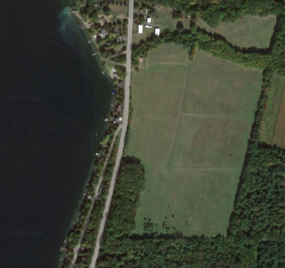 google earth view for planning