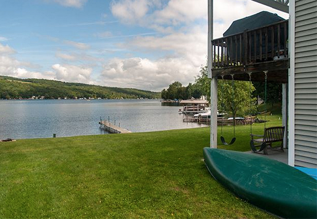 RENTAL HOUSES Visit this  website  and find one nearby the ceremony site across from 384 East Lake Road Penn Yan, NY on Keuka Lake.
