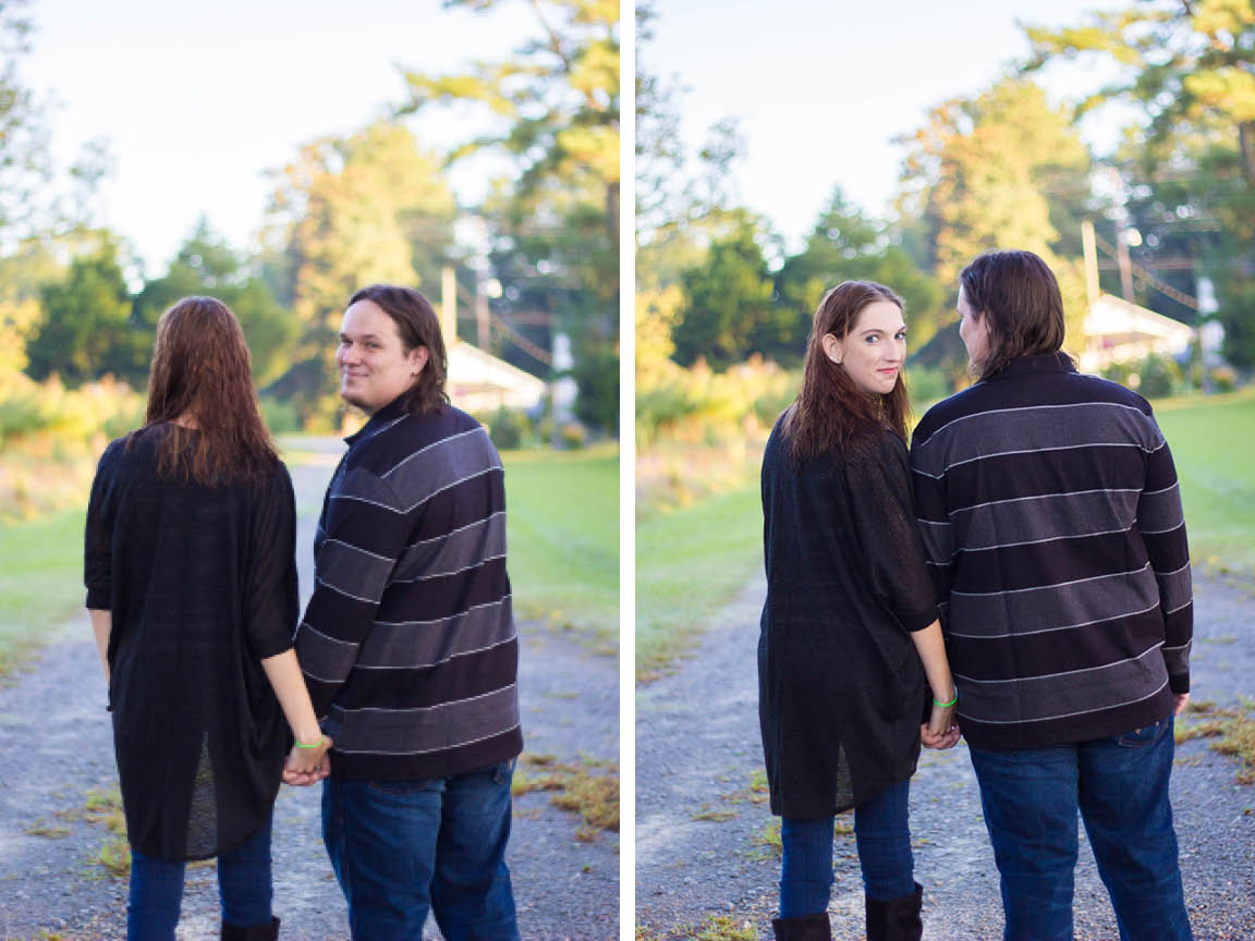 Greenville NC Engagement Photos | Tyler + Danielle | Bryant Tyson Photography | Cute Couples Pose Ideas | Marching Band