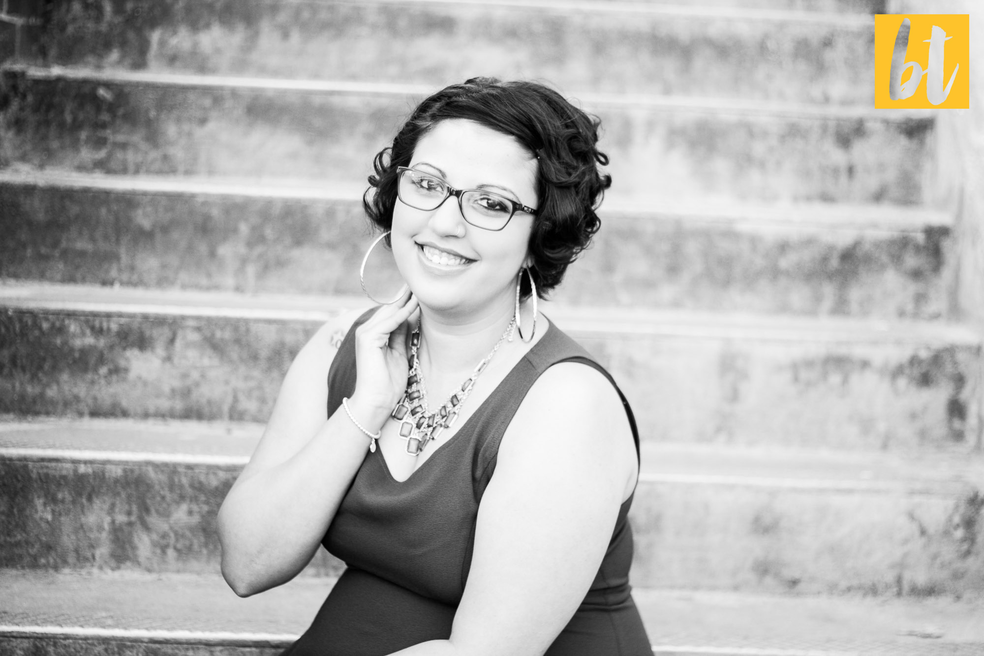 ashley ecu senior portrait black and white greenville nc photography