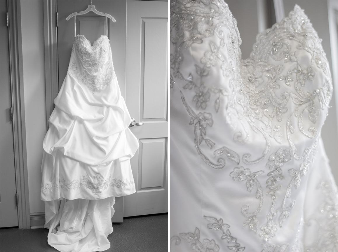wedding dress beauty and the beast greenville nc wedding