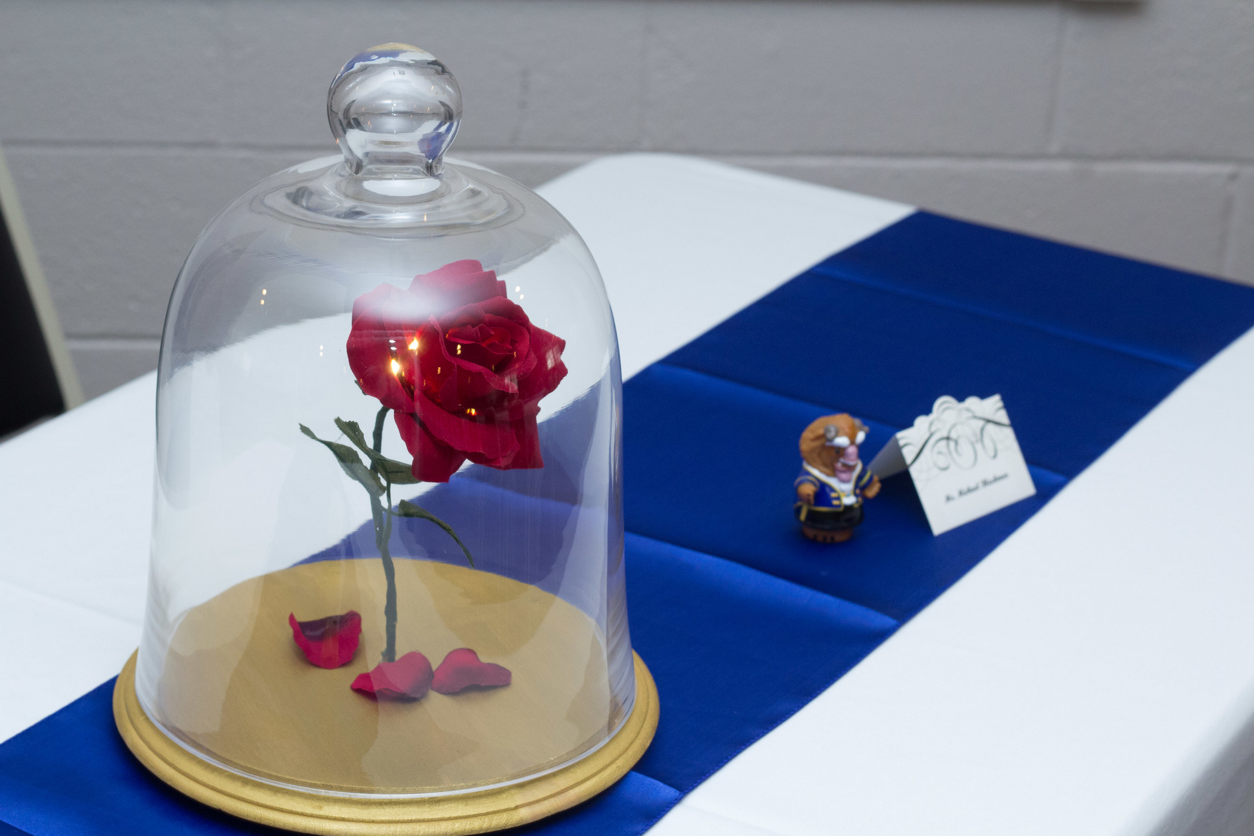beauty and the beast inspired wedding the enchanted rose