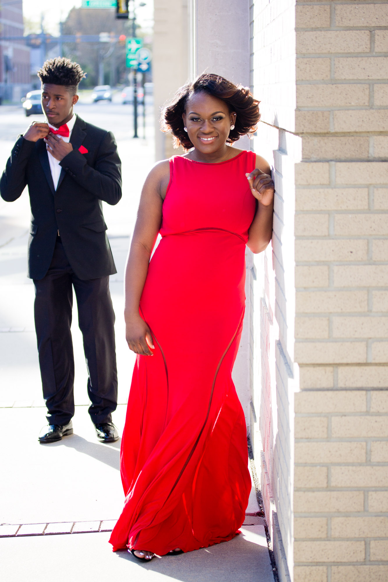 Talasha Smith Prom Portraits 2016 | Senior Photographer | Greenville NC Photographer | Uptown Greenville — Startlight Cafe | Bryant Tyson Photography