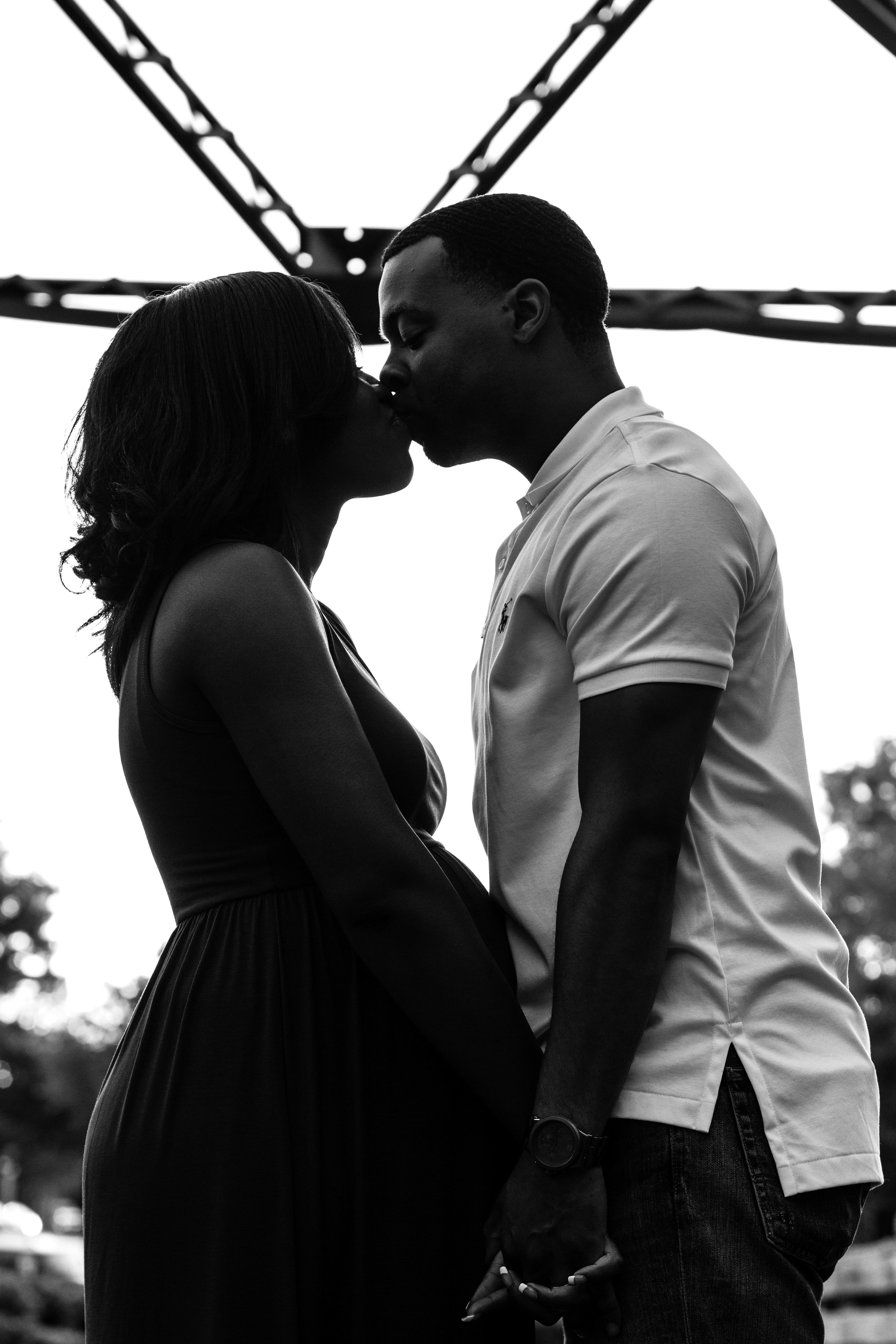Greenville NC Maternity Portraits | Bryant Tyson Photography | Jessica + Eman | www.memoriesbybryant