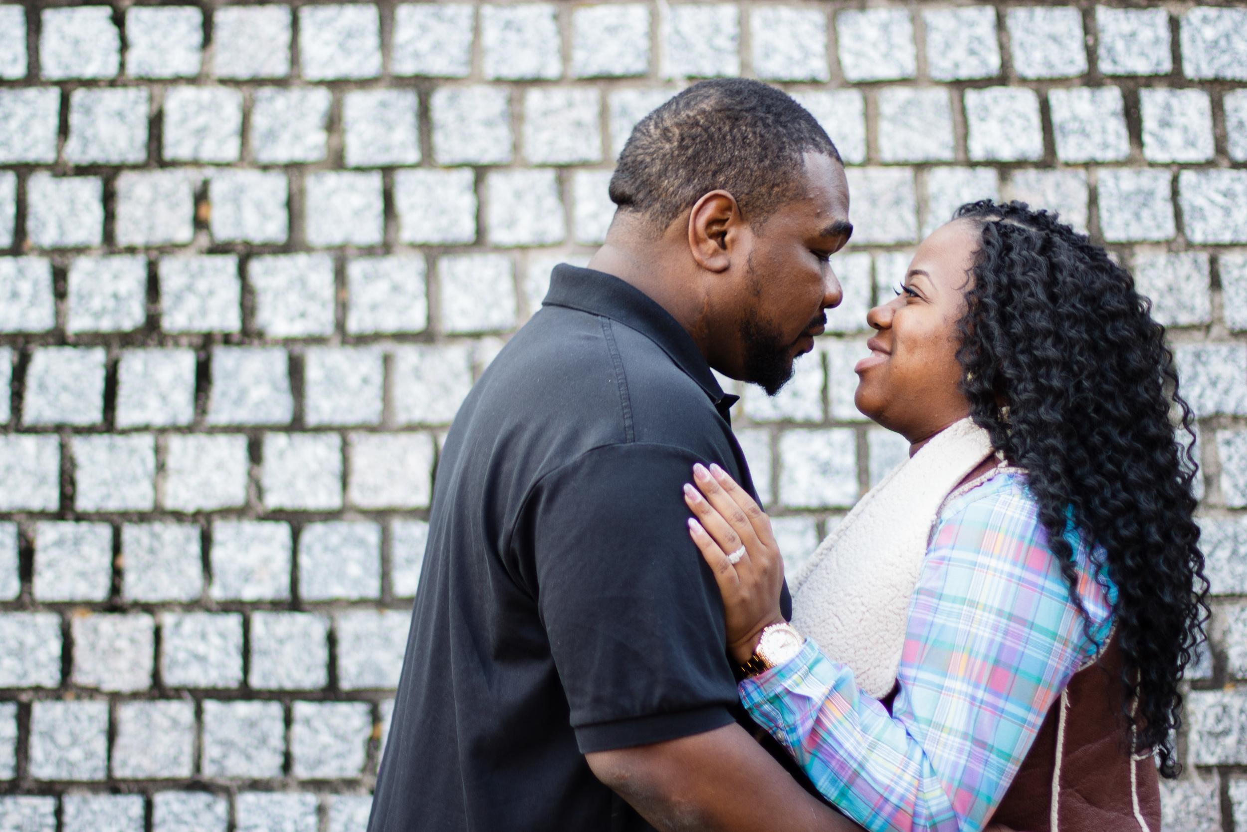 Kendra + Terrance | Greenville NC Engagement Portraits | Eastern + Greenville NC Photographer | Bryant Tyson Photography | www.memoriesbybryant.com