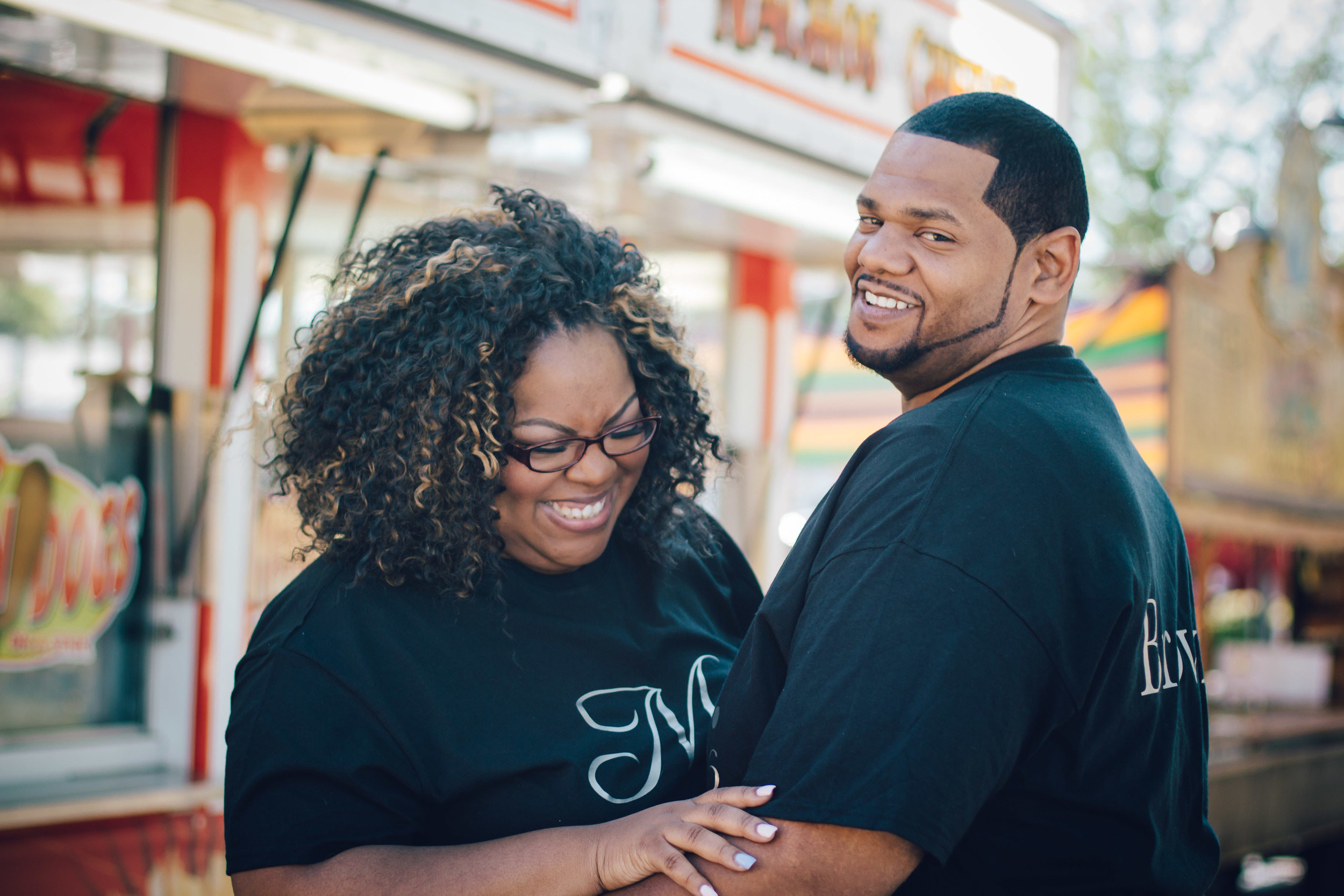 Farmville NC Dogwood Festival Engagement Photos | Shaunelle + Drake | Greenville NC Photographer | Bryant Tyson Photography | Engagement Portraits Ideas | www.memoriesbybryant.com