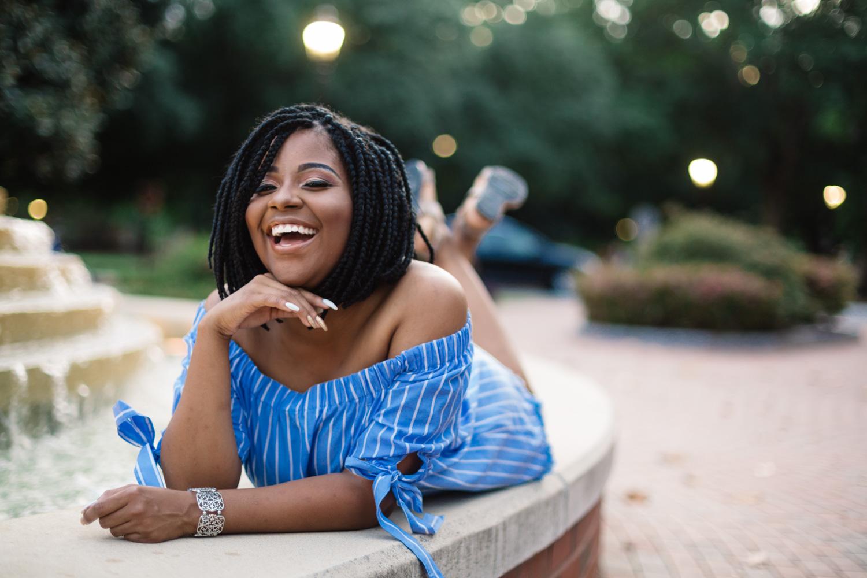Janee W | Bertie STEM High School Class of 2018 | Greenville NC Senior Photographer | Bryant Tyson Photography | www.memoriesbybryant.com
