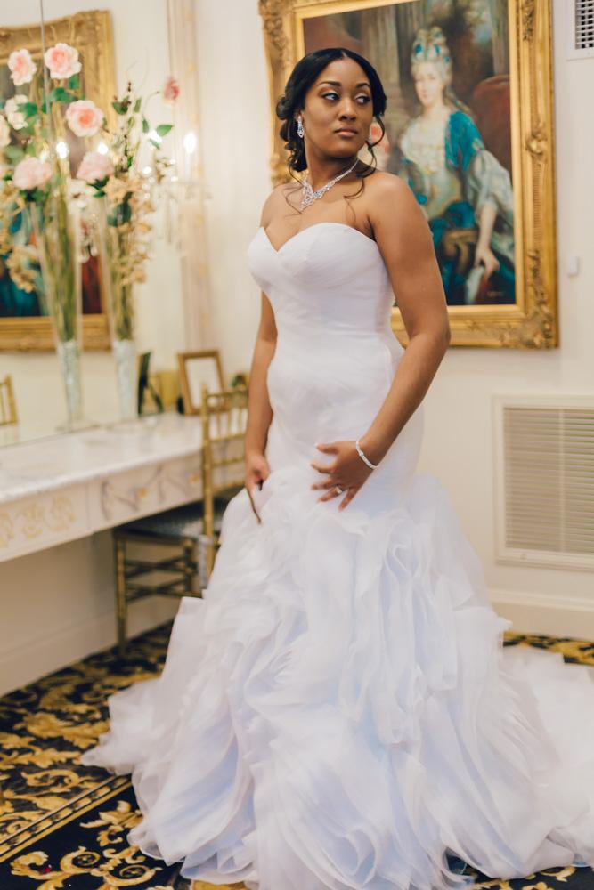Candice + Derrick   Eastern NC Photographer   Landmark Hall & Gardens Wedding   Bryant Tyson Photography   www.memoriesbybryant.com