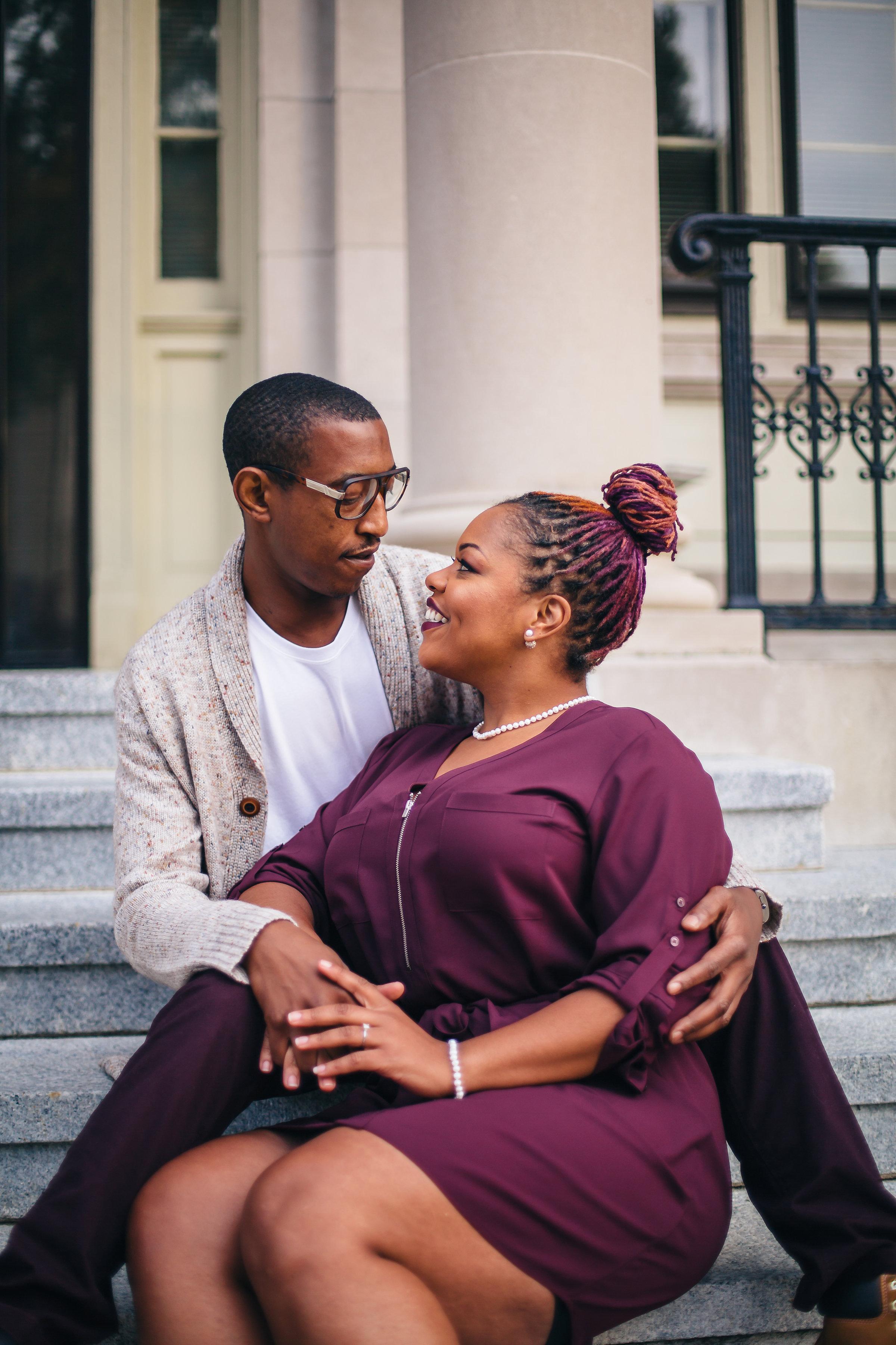 Adriane + Caldwell | Engagement Photos | Greenville NC Wedding Photographer | Bryant Devon Creative Services | www.imbryantdevon.com