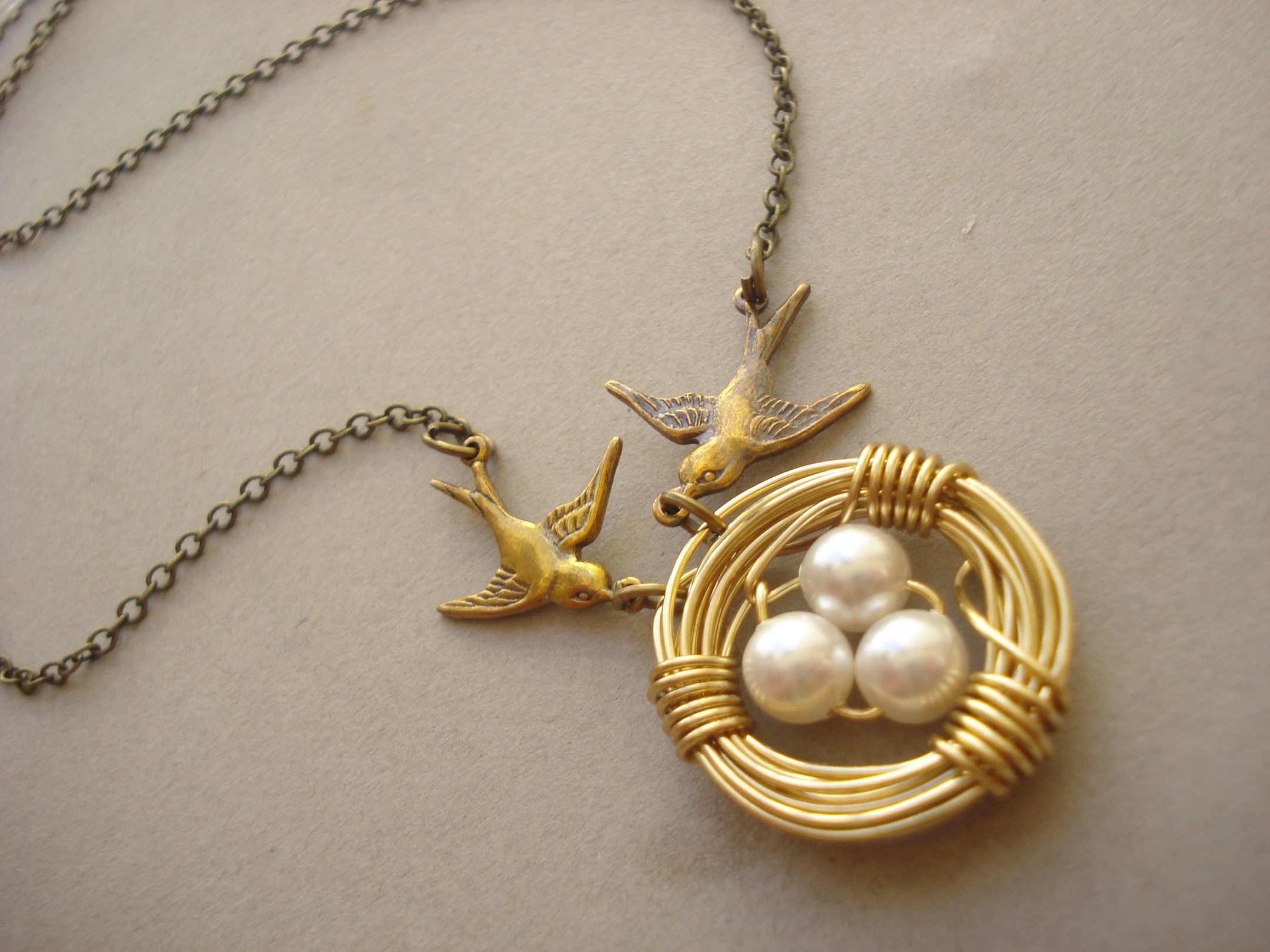 love nest in gold