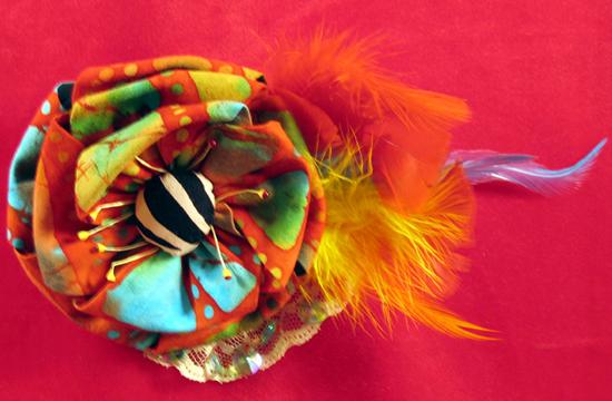 batik brooch