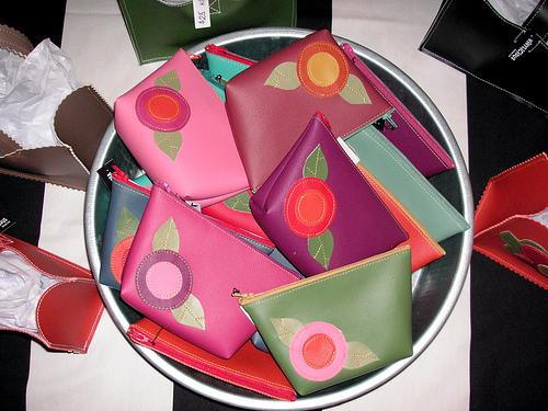 vinylicious makeup bags