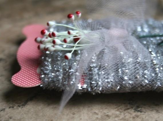 silver tinsel string